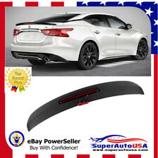 For 2016-2017 NISSA MAXIMA OE Style Rear Truk Wing Spoiler Painted KH3 Black