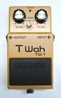 BOSS TW-1 T Wah Vintage Guitar Effects Pedal MIJ 1982 #51 DHL Express or EMS
