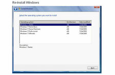 Windows 7 64bit Reinstall Repair Disc w/ 2 Year Disk Replacement Warranty (DVD)