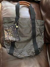 Bath & Body Works 2014 VIP Black Friday Tote Bag - Gold & Black Stripes