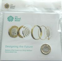 2017 Royal Mint Nations of the Crown BU £1 One Pound Coin Pack
