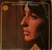 JOAN BAEZ The Contemporary Ballad Book Two LP s 33 rpm vinyl record Collector's