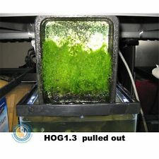 HOG1.3 Hang-On-Glass UAS Upflow Algae Scrubber with Green-Grabber 1.3 Cubes
