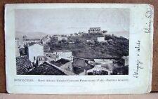 Monte-Celio - Monte Albano - Culmine Convento Francescani [piccola, b/n, viagg.]