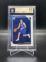 2018/19 PANINI HOOPS LUKA DONCIC ROOKIE CARD #268 BGS 9.5 TRUE GEM MINT 💎
