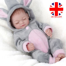 Reborn Baby Dolls Toddler Full Body Silicone Real Life Girl Doll Xmas Gifts UK