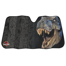 Plasticolor Jurassic Park T-Rex Front Car/Truck Windshield Sunshade Cover