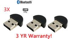 3X Bluetooth USB 2.0  Wireless Adapter V2.0 EDR for Windows Linux 32-Bit 64-Bit