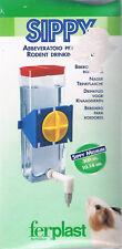 FERPLAST Biberon plastique transparent SIPPY pour rongeurs Taille M 300 cc