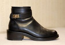 1800$ GIVENCHY shark tooth lock ankle strap chunky laura combat boots 39-40