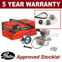 Gates Timing Cam Belt Water Pump Kit For Alfa Romeo Fiat Lancia KP35429XS