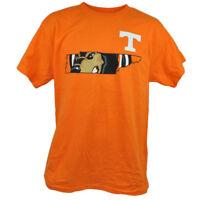 NCAA Tennessee Volunteers Vols Mens Adult Orange Tshirt Tee Cotton Short Sleeve