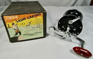 Penn 155 Light Tackle Casting Reel c. late 1940's, EX+ with Box!