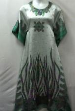New Women Kaftan Caftan Ladies Dress long lounger gown Plus Size