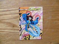 1993 TOPPS JACK KIRBY'S TEENAGENTS PROMO CARD SIGNED JOE SINNOTT, WITH POA