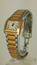 Emporio Armani AR5698 two tone ladies watch AR-5698 analog 5 ATM