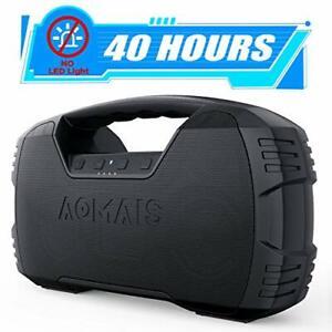 Bluetooth Speaker Portable Waterproof, 40-Hour Playtime Wireless Outdoor Speaker