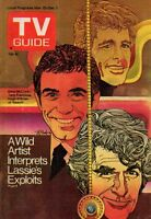 1972 TV Guide November 25 - Hugh O'Brian; Lassie; Francesca James; Orson Welles