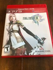 Final Fantasy XIII (Sony PlayStation 3, 2010) Complete Greatest Hits