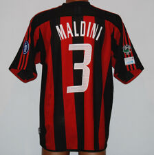 maglia milan Maldini adidas derby INTER-MILAN player issue FONDAZIONE MILAN