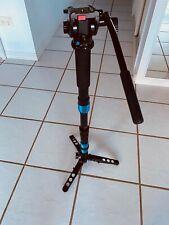 Sirui P-SR Monopod w/ Three Stand Feet - SIRUI video Head VA-5