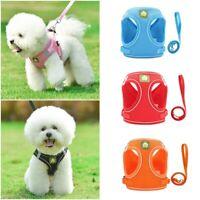 Pet Harness Leash Kit für kleine mittelgroße Hunde Katze Reflective Puppy Chest