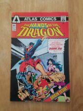 Hands of the Dragon #1 (Jun 1975, Atlas Comics), FN Origin & 1st app.