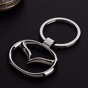 Mazda Keyring NEW UK Seller Boxed or UnBoxed Key Ring Chain Silver