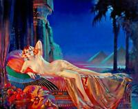 Cleopatra : Henry Clive : Circa 1920 : Archival Quality Print  [pinup]