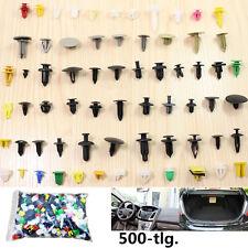 500x Auto Niete Clip Sortiment Türverkleidung für PKW KFZ Werkstattbedarf 1-4cm