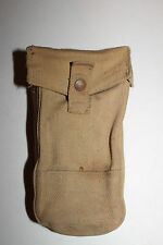 WW2 CANADIAN ARMY CANVAS AMMO/GRENADE POUCH, 1942 DATED