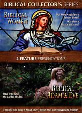 Biblical Collectors Series: Biblical Women/Biblical Adam and Eve (DVD, 2014) NEW
