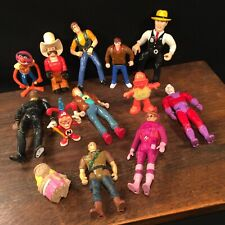 Vintage Toy Action Figure Lot (13) Dick Tracy Et Ghost Busters Priority Mail