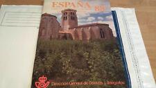 LIBRO OFICIAL DE CORREOS ESPAÑA 1988 COMPLETO SUPER OFERTA ÚNICA Y ESPECIAL**
