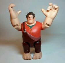 "LARGE 11"" DISNEY TALKING WRECK IT RALPH w/ ACTION SWINGING ARMS - THINKWAY TOYS"