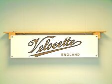 Velocette Motorcycle Banner Workshop Garage Sign, Venom Thruxton Valiant LE etc