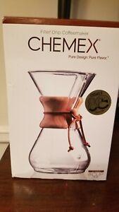 CHEMEX 8 Cup. Filter-Drip Coffeemaker