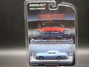 2021 GREENLIGHT 1977 PLYMOUTH FURY CHRISTINE  HOLLYWOOD SERIES 30 1:64 MODEL CAR