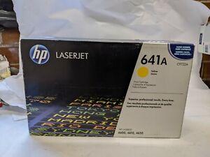 Toner Cartridge For HP LaserJet 641A C9722a 4600 Genuine Original Fits UK Yellow