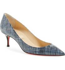 NIB CHRISTIAN LOUBOUTIN PIGALLE FOLLIES LOW HEEL 55mm POINTY PUMP SIZE 36 $695