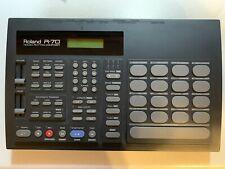 Roland R-70 Vintage Drum Machine w/ Memory Card & Adapter Human Rhythm Composer