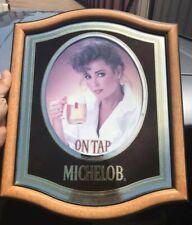 Vintage 1983 Michelob Beer Back Bar Mirror Sign