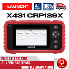 Launch X431 Crp129 X Abs Srs Reset Code Reader Obd2 Diagnostic Auto Scanner Tool