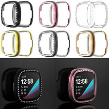 PC Case Cover Housing Shell Frame Bumper for Fitbit Versa 3/Sense Fitness Watch