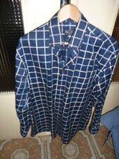 chemise homme EDEN PARK taille M , col 39/40 , coton double retor ; rayé