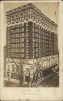 New Haven CT Hotel Taft c1910 Real Photo Postcard