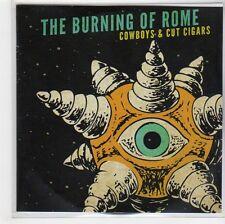(GF941) The Burning Of Rome, Cowboys & Cut Cigars - 2012 DJ CD