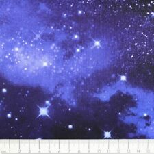 Baumwollstoff nachtblau Sterne weiß Stoff timeless treasures fabrics USA