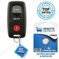 Replacement For 2004 2006 Mazda 3 2003 2005 Mazda 6 Remote Car Keyless Key Fob Fits Mazda
