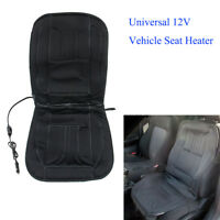 Universal 12V Heated Car Van Front Seat Cover 12 Volt Padded Thermal Cushion Fit